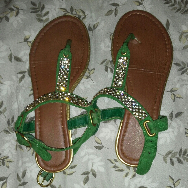Green Sandals From Portugal