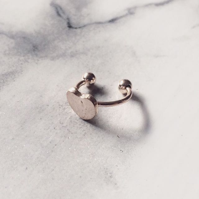 Heart Ear Clip