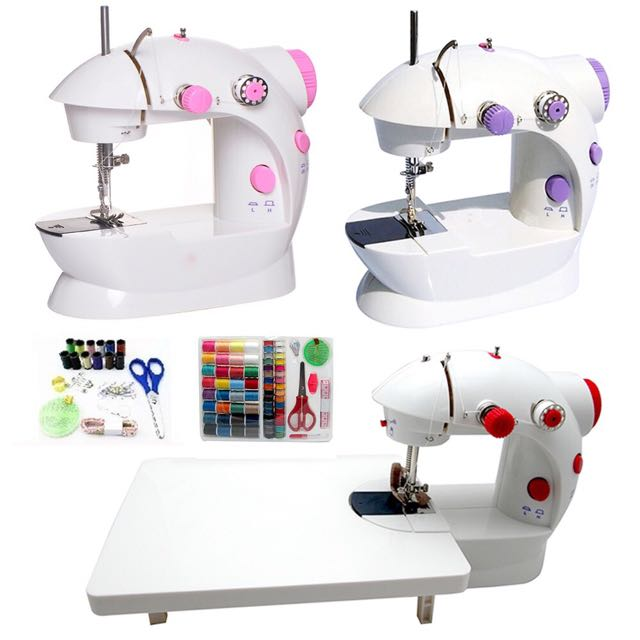 🔥🔥HOT SELLING🔥🔥READY STOCK - 4 In 1 Dual Speed Portable Handheld Sewing Machine