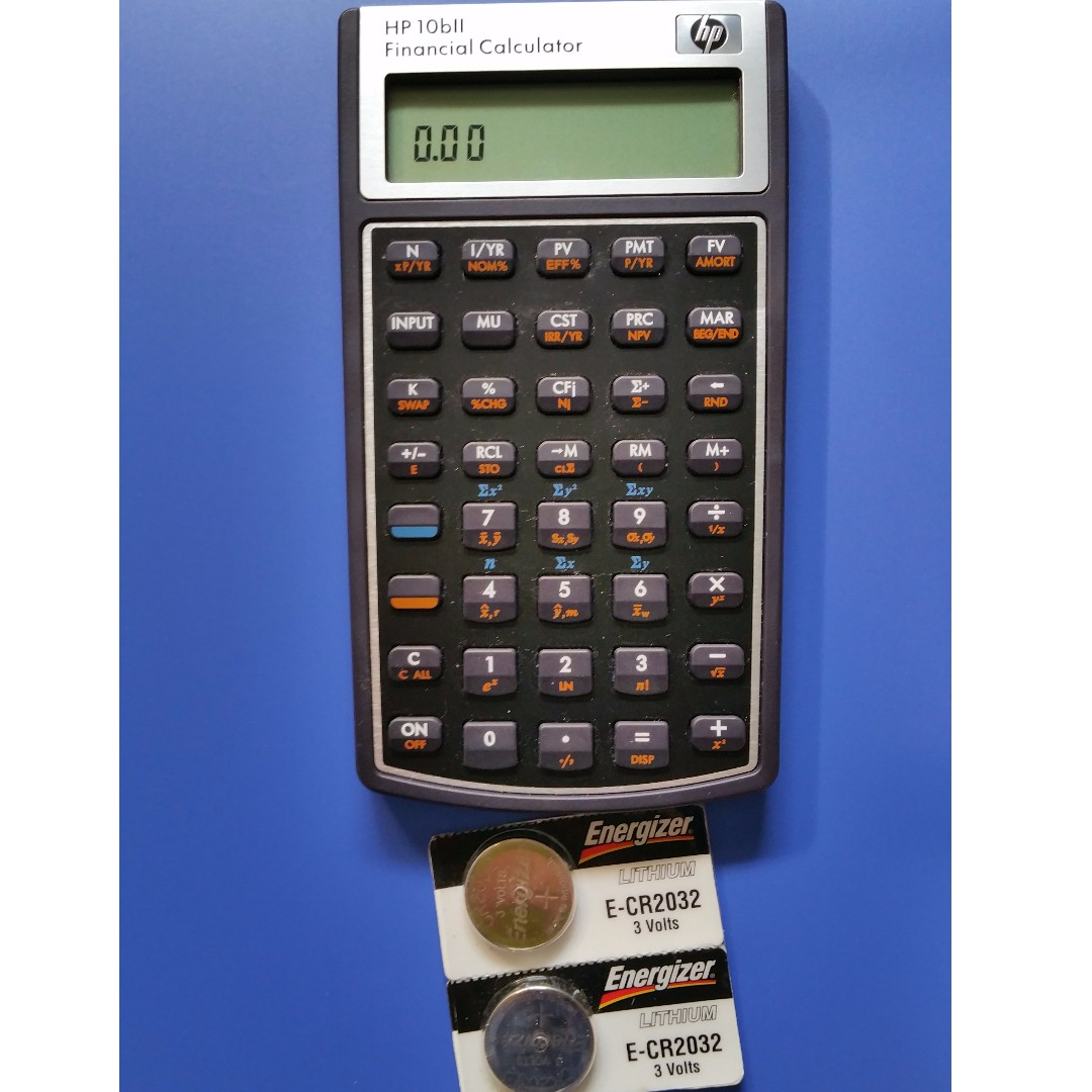 hp 10bii financial calculator electronics others on carousell rh sg carousell com