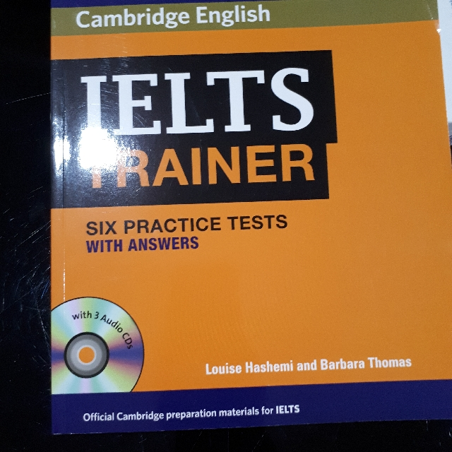 IELTS Trainer With 6 Practice Test & Answers