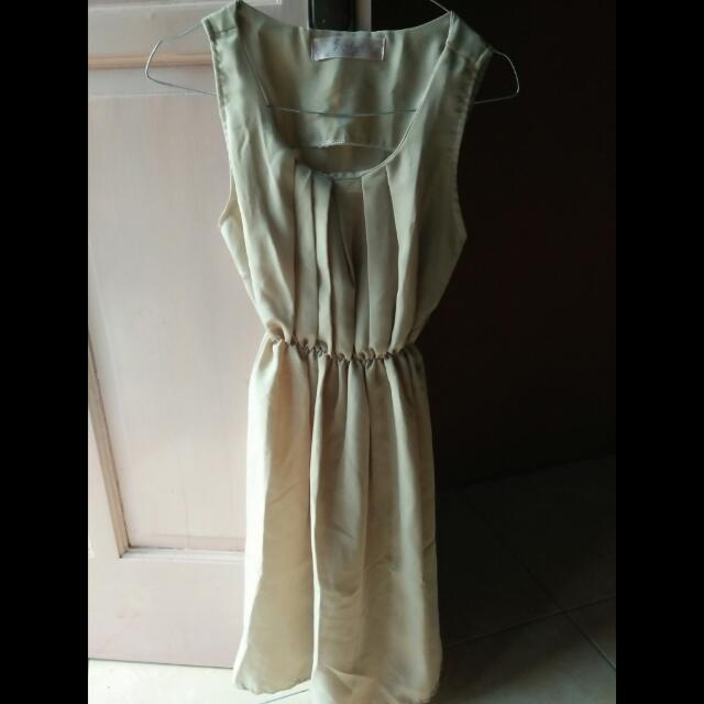 JREP BEIGE MINI DRESS