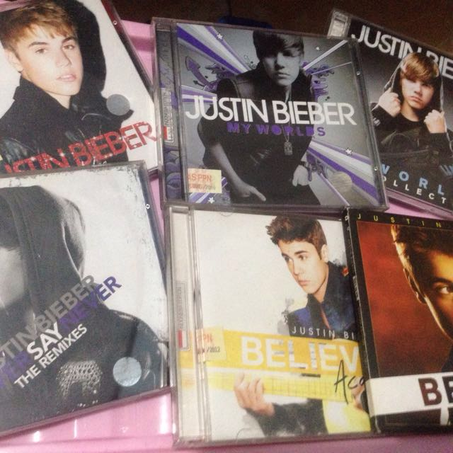 JUSTIN BIEBER COLLECTIONS