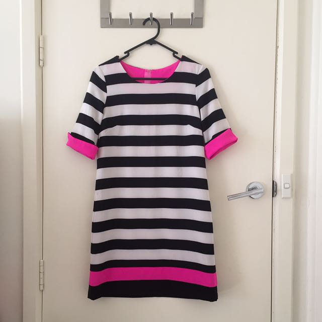 Karen Striped Dress