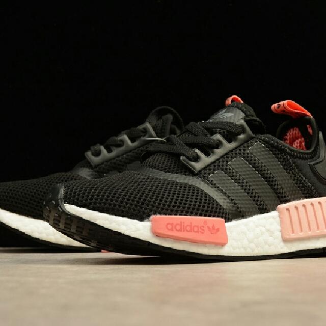 kasut adidas nmd r1 donne è nero, rosa, sport, atletica e sport
