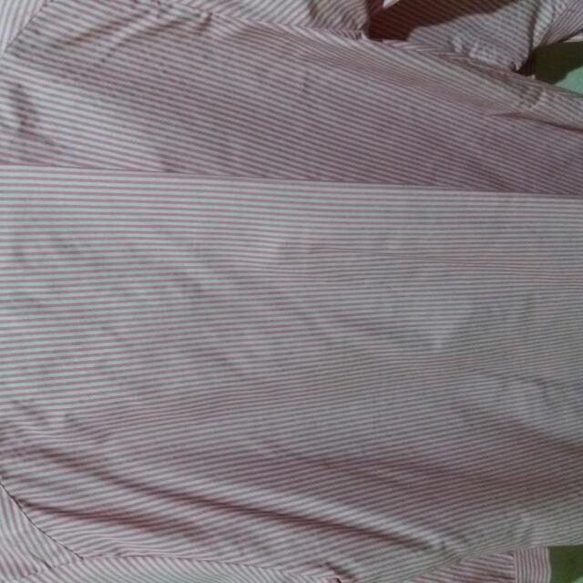 Kemeja Connextion Uk.xxl Pink Lembut