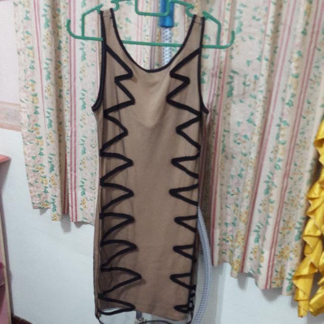 Kitschen Bodycon Netting Dress