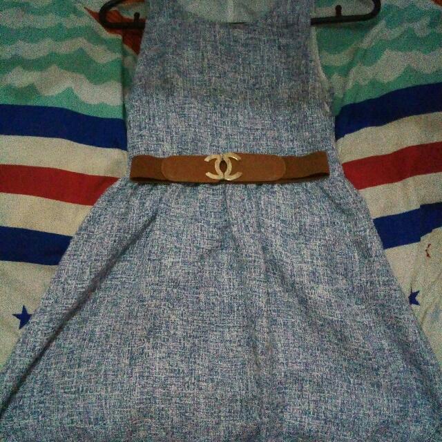 Knitted Korean Dress