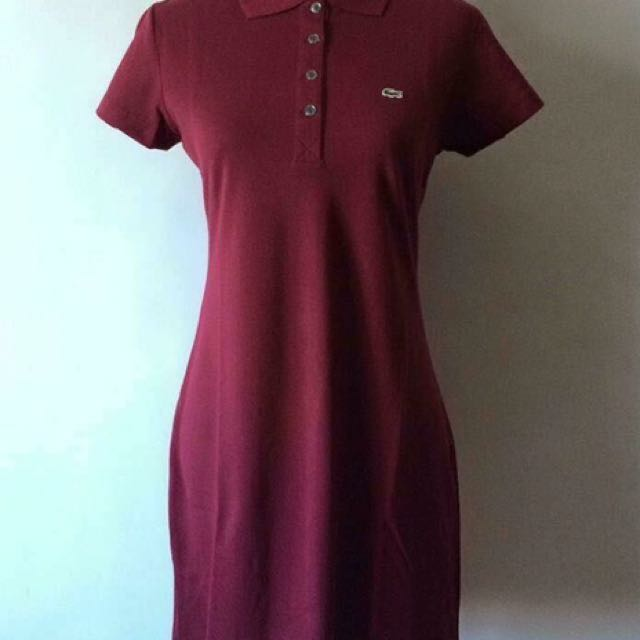 60b6635701b0 Lacoste Polo Dress, Women's Fashion, Clothes, Dresses & Skirts on ...
