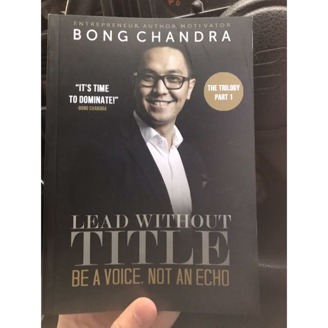 Lead Without Title - Bong Chandra