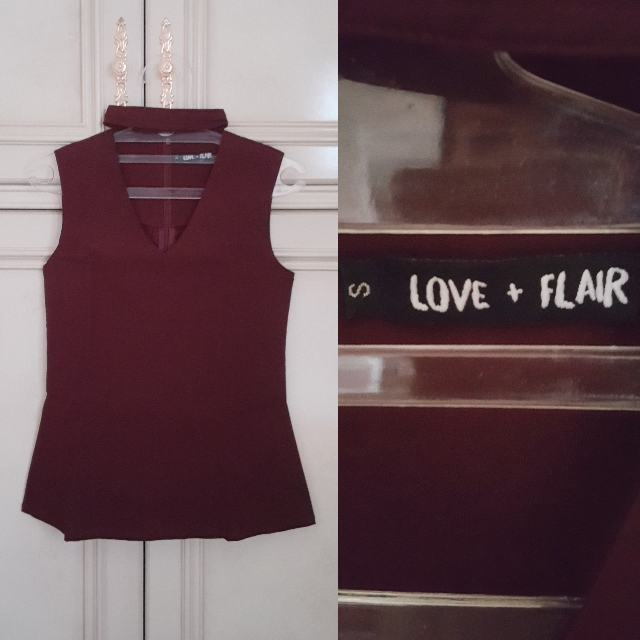 Love & Flair Top // Atasan Wanita