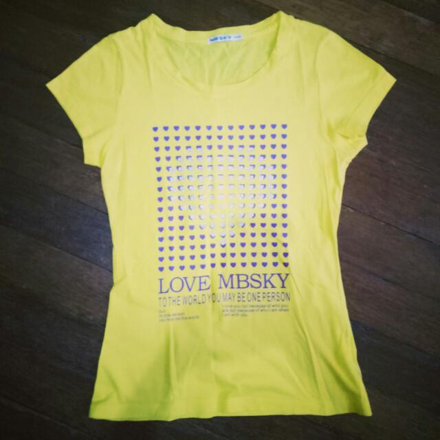 MBSKY Yellow Top