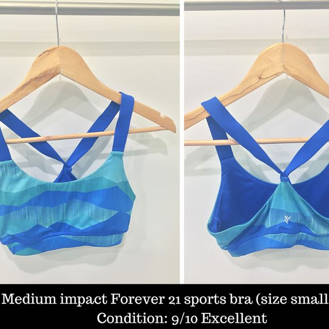 Medium-impact Forever 21 Sports Bra - Size Small