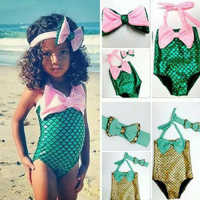 MERMAID BIKINI BABY GIRL