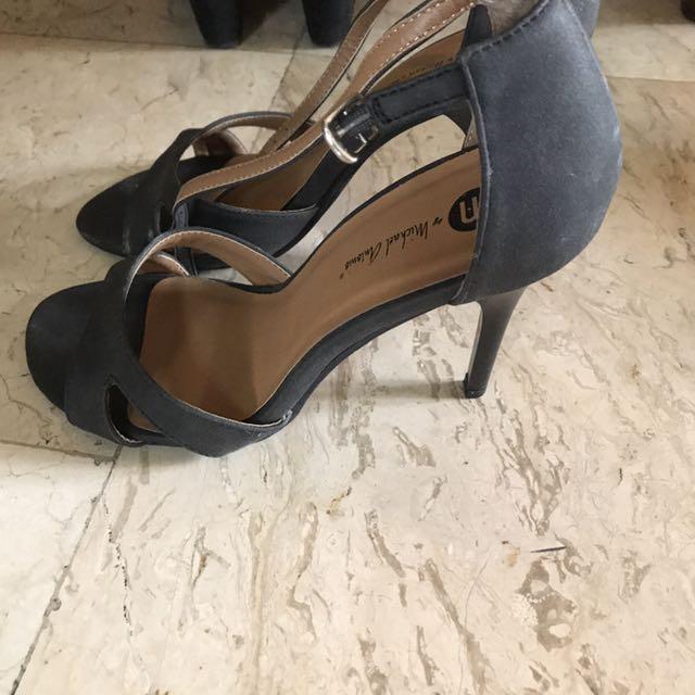Micheal Antonio Black Sandals Heels