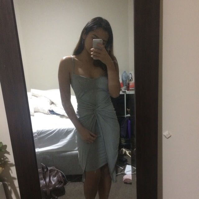 Missguided Grey Dress