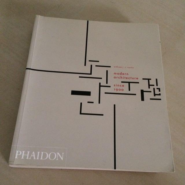 Modern Architecture Since 1900 Phaidon 3rd Edition Books