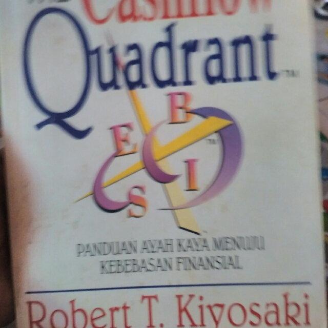 Motivation Book: The Cash flow Quadrant By Robert T. Kiyosaki