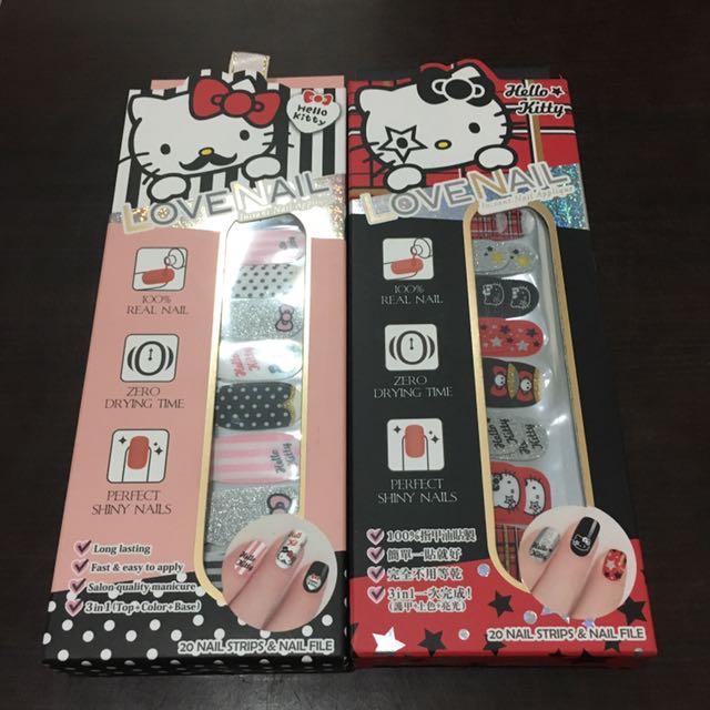Nail Art Stiker Hello Kitty