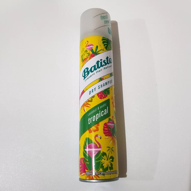 [NEW] Batiste Dry Shampoo Tropical 200ml
