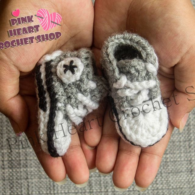 New Crochet Baby Converse