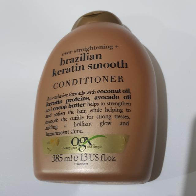 [NEW] OGX Brazilian Keratin Smooth Conditioner 385ml