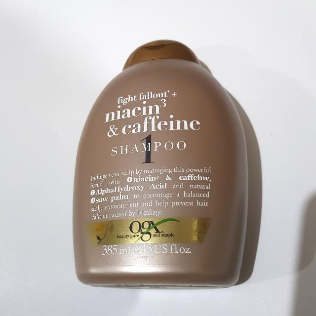 [NEW] OGX Niacin & Caffeine Shampoo 385ml