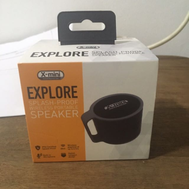 NEW OPEN BOX!!! X-MINI WIRELESS SPEAKER PORTABLE