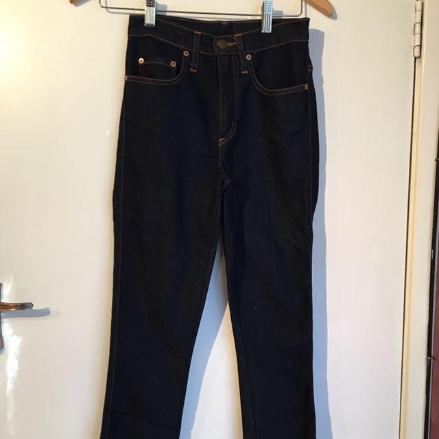 Nobody Denim Jeans Navy Size 24