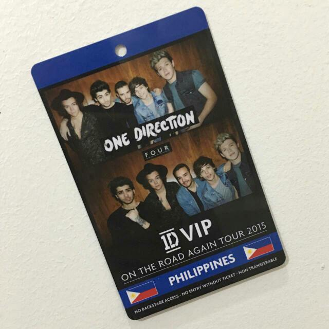 One Direction 1D VIP ID