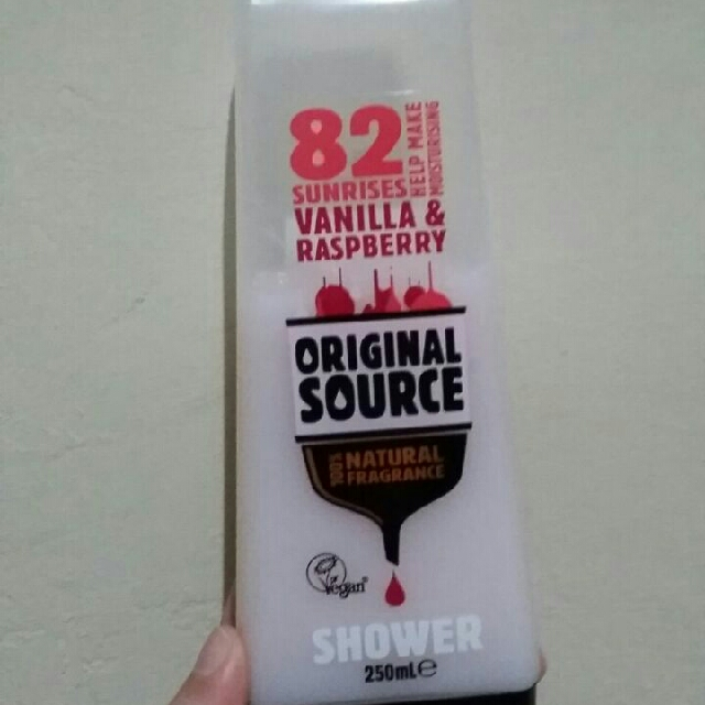 Original Source Raspberry & Vanilla (250ml)