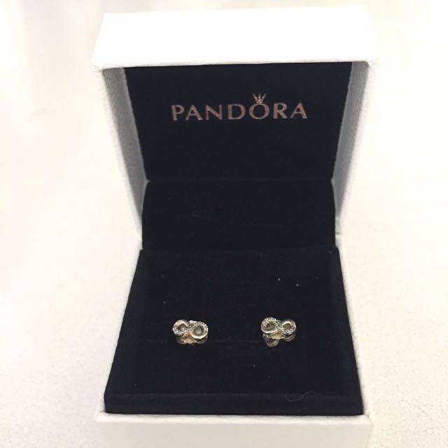 Pandora Infinite Love Earrings