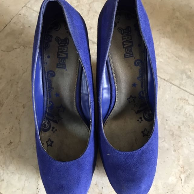 Payless Blue Pumps Wedge