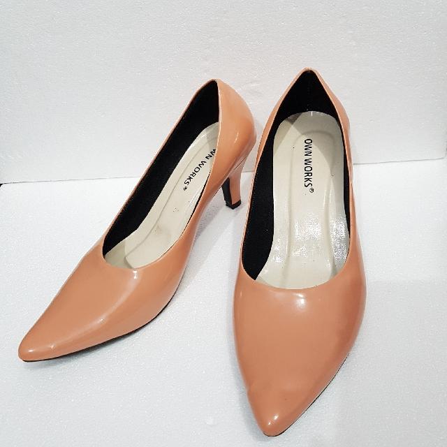 Peach Short Heels
