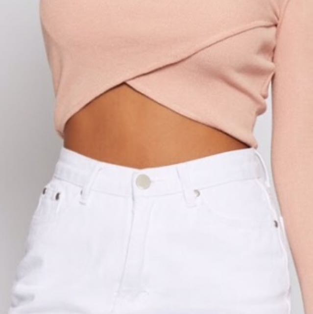 pink long sleeve top size s-m