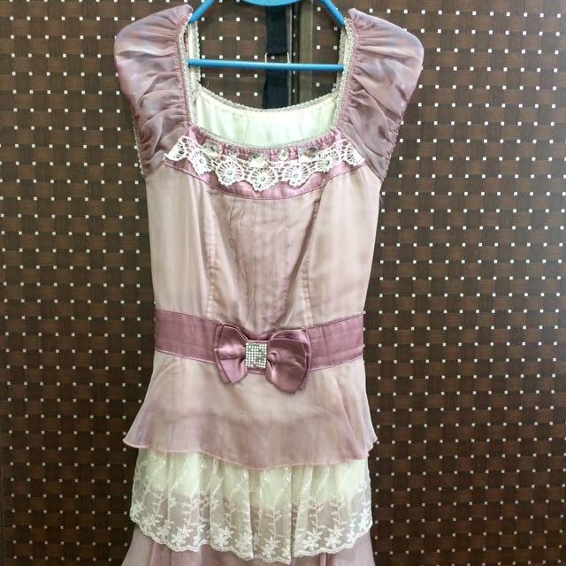 Pink Semi-formal Dress