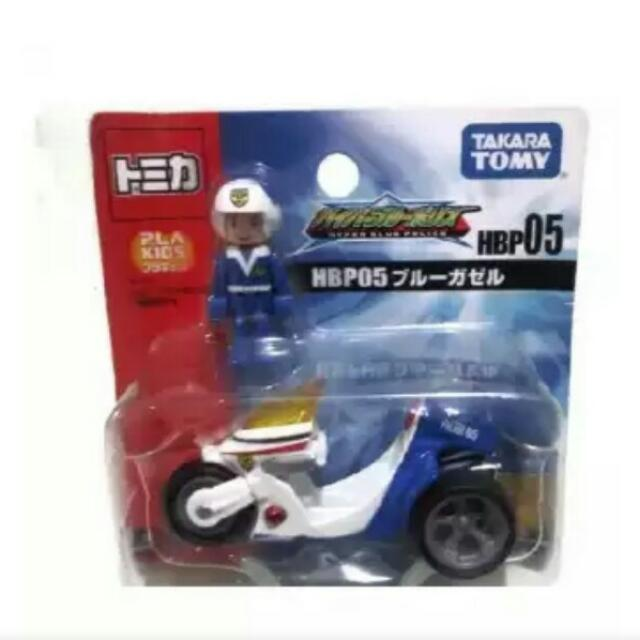 Police With Motorcycle Takara Tomy