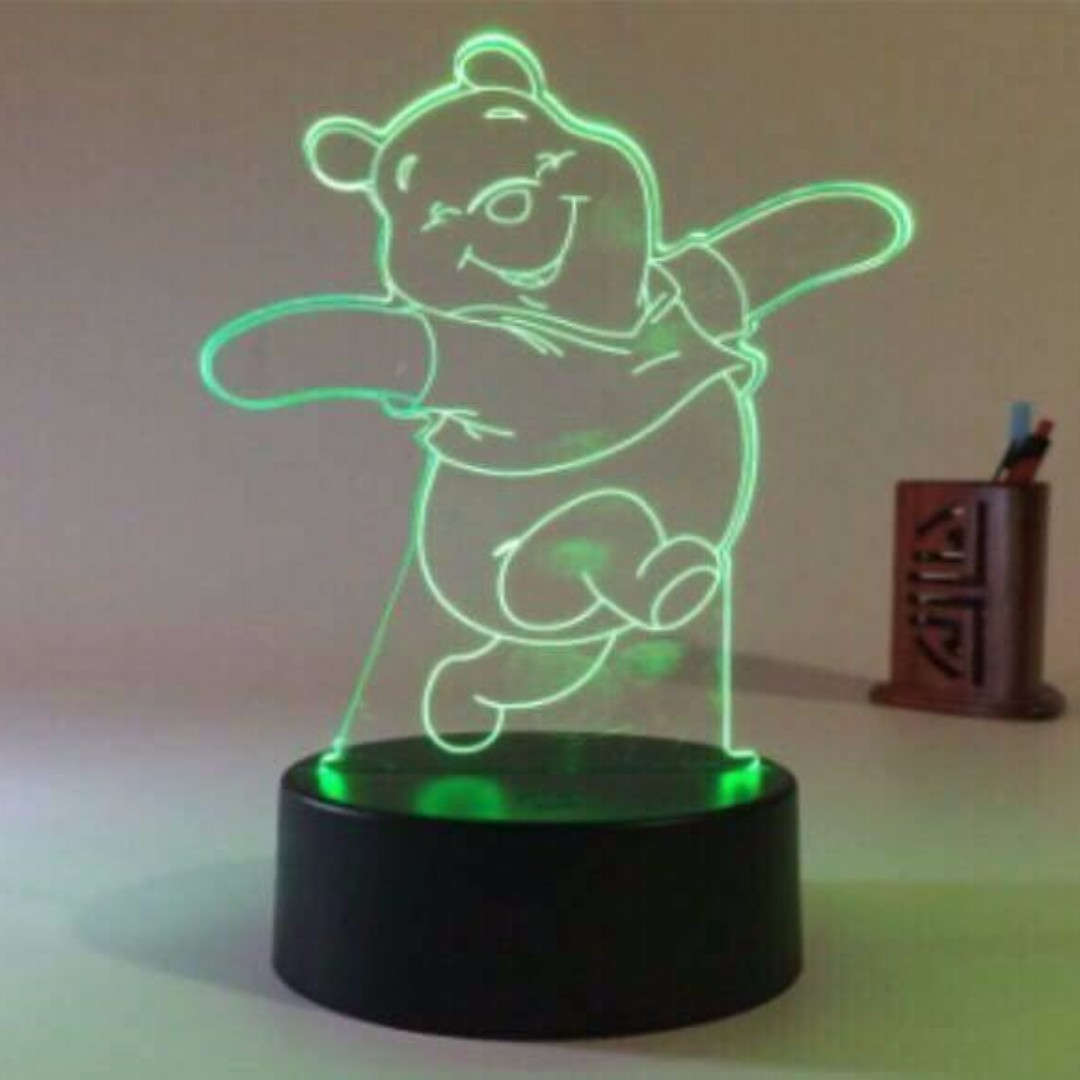 POOH 3D Led Light (Out of Stock)