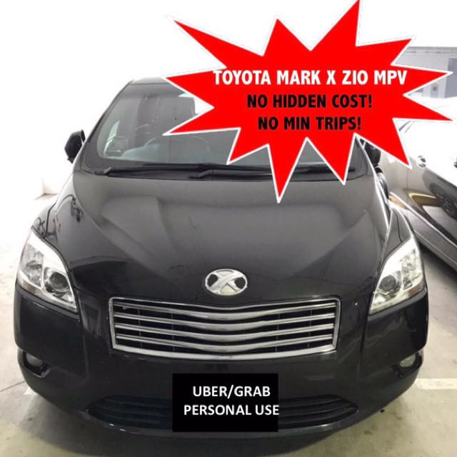Pre-Hari Raya Haji Promos! Toyota Mark X ZIO 2 4 MPV For Rent