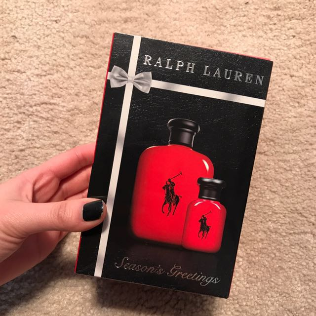 Ralph Lauren polo red cologne