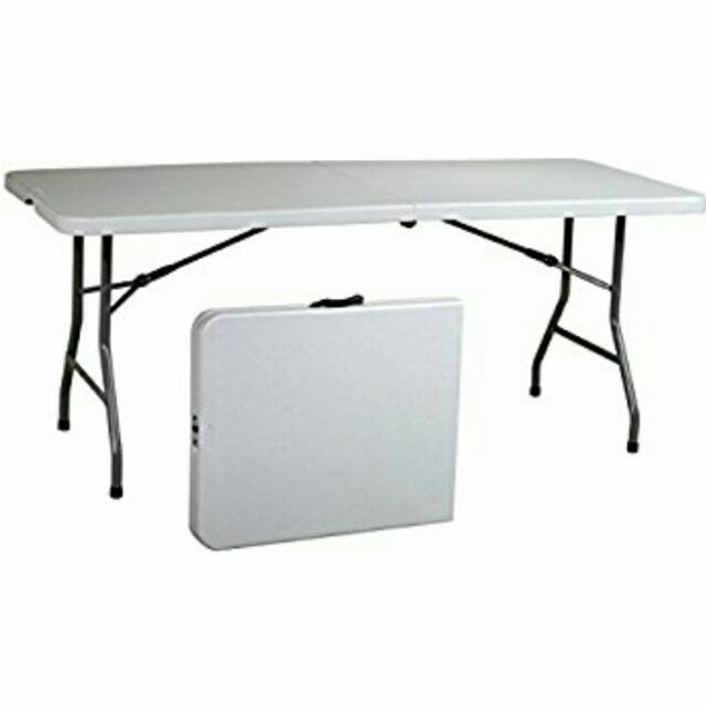Incredible Rental 6Ft Foldable Resin Banquet Table Spiritservingveterans Wood Chair Design Ideas Spiritservingveteransorg