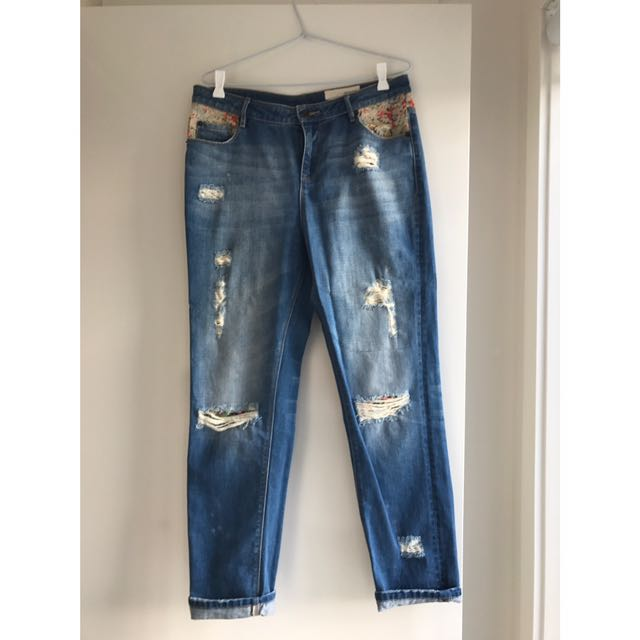Sass & Bide Boyfriend Jeans Sz 27