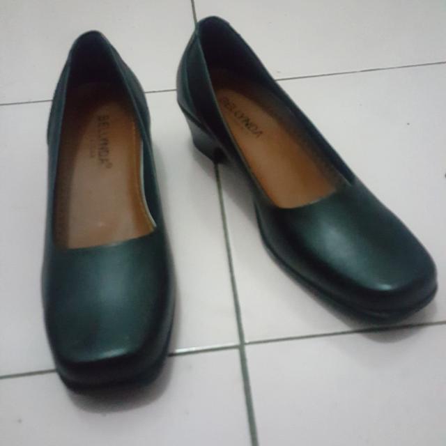 Sepatu Kerja Hitam Hels