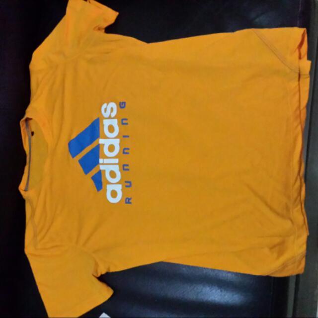 Sport Shirt Yellow Orange
