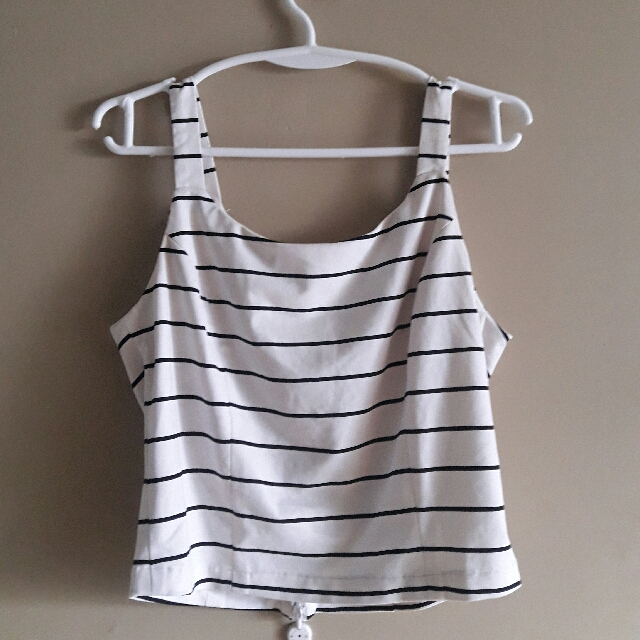 Striped Sleevelss Top