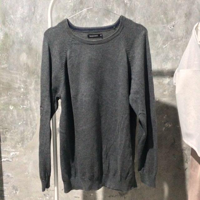 THE EXECUTIVE Grey Sweater Sweatshirt