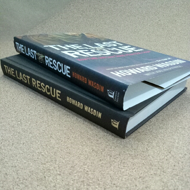 The Last Rescue  author: Howard Wasdin