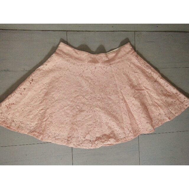 REPRICED! TOPSHOP Laced Skirt