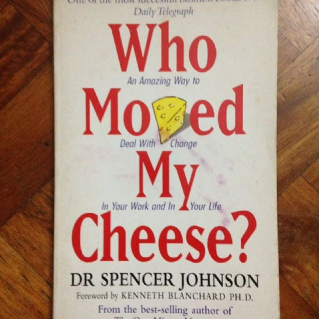 Who moved my cheese books books on carousell fandeluxe Image collections