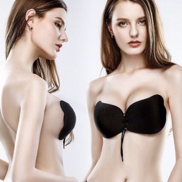 Women Silicone Push Up Strapless Invisible Bra
